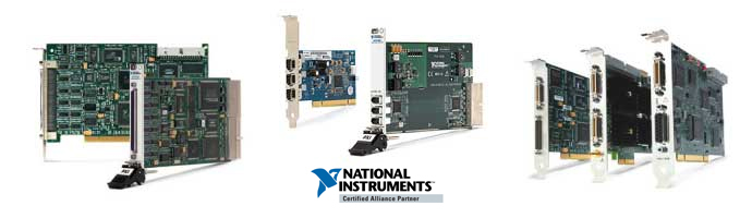 cartes d'acquisition National Instruments