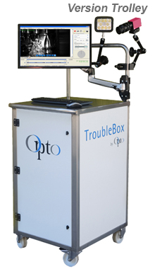 TroubleBox, portable high speed video recording for troubleshooting